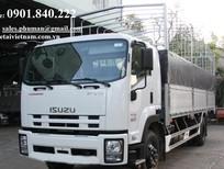 Cần bán xe Isuzu 15 tấn 3 chân năm 2015, màu trắng, nhập khẩu nguyên chiếc