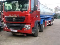 Bán xe tải bồn Howo chở xăng dầu, Giá xe bồn chở xăng dầu Howo 20 khối máy 340Hp nhập khẩu