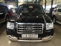 Cần bán xe Ford Everest 4x2 đời 2008, màu đen, giá 499tr