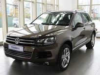 Bán Volkswagen Touareg E đời 2015, màu nâu, nhập khẩu chính hãng