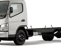 Bán xe tải Mitsubishi Canter đời 2015, màu trắng, nhập khẩu, 599tr