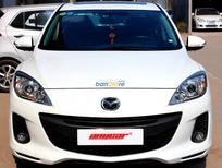 Cần bán xe Mazda 3 1-5-AT đời 2014, màu trắng, số tự động