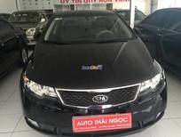 Bán xe Kia Cerato đời 2011, màu đen, nhập khẩu, giá tốt