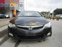 Bán Honda Civic đời 2008, màu đen, còn mới