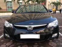 Cần bán gấp Honda Civic 1.8 AT đời 2008, màu đen, số tự động, giá chỉ 490 triệu