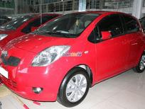 Cần bán lại xe Toyota Yaris Base đời 2009, màu đỏ, xe nhập, số tự động
