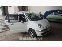 Xe Daewoo Matiz sản xuất 2003, màu trắng, nhập khẩu nguyên chiếc