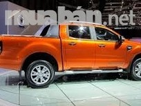Cần bán Ford Ranger Wildtrak đời 2016, màu vàng, nhập khẩu nguyên chiếc