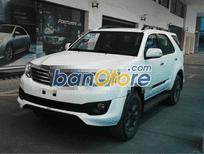 Xe Toyota Fortuner năm 2015, màu trắng, nhập khẩu, ít sử dụng