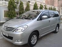 Cần bán lại xe Toyota Innova J 2008, màu bạc