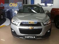 Bán Captiva LTZ mới, sản xuất 2016, xe số tự động, màu đen, nội thất màu kem