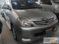 Cần bán gấp Toyota Innova đời 2009, màu bạc, giá tốt