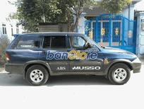 Xe Ssangyong Musso đời 2002, màu đen, nhập khẩu, chính chủ, giá tốt