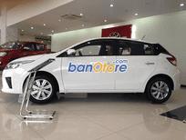 Cần bán lại xe Toyota Yaris sản xuất 2015, màu trắng, số tự động, giá 618tr