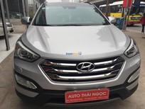 Cần bán gấp Hyundai Santa Fe 2013, màu bạc, nhập khẩu chính hãng, số tự động