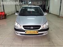 Cần bán gấp Hyundai Getz đời 2009, màu bạc, nhập khẩu nguyên chiếc, số sàn, 305tr