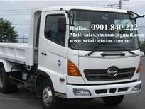 Địa chỉ uy tín bán xe ben Hino 3.5 tấn giá tốt ở TPHCM, Bình Dương. Có xe sẵn giao ngay, xe mới 100%