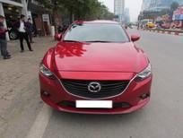 Bán Mazda 6 2.5at đời 2014, màu đỏ, nhập khẩu nguyên chiếc, số tự động