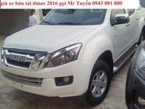 Bán ô tô Isuzu Dmax LS 4x2 MT đời 2016, màu trắng, xe nhập