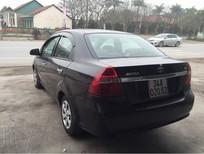 Cần bán lại xe Daewoo Gentra đời 2007, màu đen chính chủ