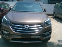 Cần bán xe Hyundai Santa Fe đời 2016, màu nâu