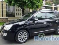 Cần bán gấp Kia Carens MT đời 2010, màu đen đã đi 10000 km, giá chỉ 390 triệu