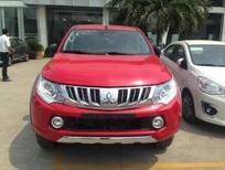 Bán Mitsubishi Triton mới màu đỏ, nhập khẩu nguyên chiếc, giá tốt