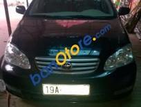 Lên đời cần bán Toyota Corolla J đời 2003, màu đen, giá 275tr