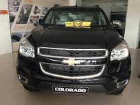 Bán Chevrolet Colorado 2.8 AT màu đen, nhập khẩu, hỗ trợ trả góp, liên hệ 0975.579.305