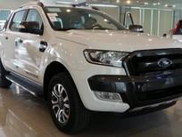 Bán ô tô Ford Ranger Wiltrack 3.2 đời 2016, màu trắng, xe nhập, giá chỉ 896 triệu