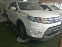 Cần bán Suzuki Vitara Trắng ngọc trai đời 2016, màu trắng, nhập khẩu chính hãng, giá tốt