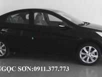 Bán ô tô Hyundai Acent đời 2016, màu đen