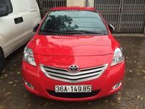 Cần bán lại xe Toyota Vios 2011, màu đỏ giá cạnh tranh