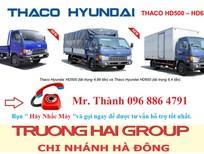 Xe tải 5 tấn, 6 tấn, 7 tấn, thaco HD650, thaco HD500 chính hãng tại hà nội
