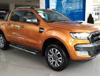Bán Ford Ranger Wiltrak 3.2 2016 màu cam, giá tốt, hỗ trợ mọi thủ tục cho khách hàng