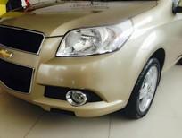 Bán xe Chevrolet Aveo LT đời 2016, màu vàng