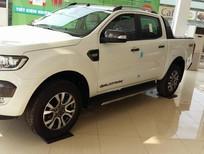 Cần bán xe Ford Ranger 3.2 Wildtrak 2016, màu trắng, nhập khẩu,cam kết GIÁ TỐT
