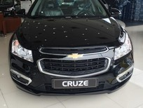 Cần bán Chevrolet Cruze LT 2016, màu đen