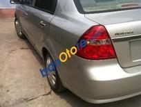 Cần bán lại xe Daewoo Gentra sản xuất 2009, màu bạc, 265tr