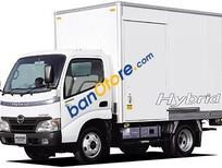 Xe tải Hino 4.5 tấn, bán xe tải Hino 4T5/ 4,5 tấn thùng 5m3 mới 100%
