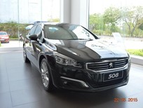 [Peugeot Vũng Tàu] Cần bán xe Peugeot 508 facelift model 2016, màu đen, nhập khẩu