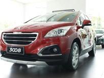 Peugeot Vũng Tàu cần bán Peugeot 3008 sản xuất 2016, màu đỏ, đẳng cấp Châu Âu, xe Pháp