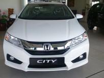 Cần bán Honda City CVT 2016, màu trắng, giá tốt