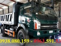 Bán xe ben Cửu Long 8 tấn thùng chở 6.5 khối giá tốt hỗ trợ trả góp lãi suất thấp