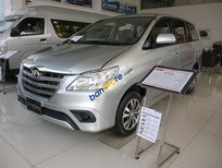 Toyota Innova 2.0 E 2016, màu bạc, chỉ với 140 triệu nhận xe ngay. Liên hệ để nhận ưu đãi tốt nhất Miền Nam