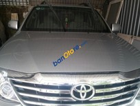 Bán Toyota Fortuner 2.5G năm 2012, màu bạc chính chủ, giá chỉ 845 triệu