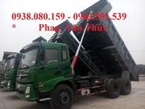 Bán xe ben DongFeng Trường Giang 13.3 tấn 3 chân giá tốt nhất, Đại lý bán xe ben DongFeng Trường Giang 13.3t