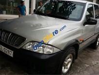 Cần bán lại xe Ssangyong Musso năm 2002, màu bạc, nhập khẩu nguyên chiếc