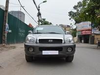 Bán ô tô Hyundai Santa Fe Gold đời 2005, màu bạc, nhập khẩu nguyên chiếc,