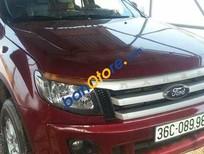 Bán Ford Ranger MT sản xuất 2013, màu đỏ, giá ưu đãi